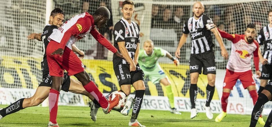 Als Amadou Haidara zum 2:0 traf, schien Salzburg schon wieder sichere Sieger. Es war der Startschuss für eine fulminante Partie.