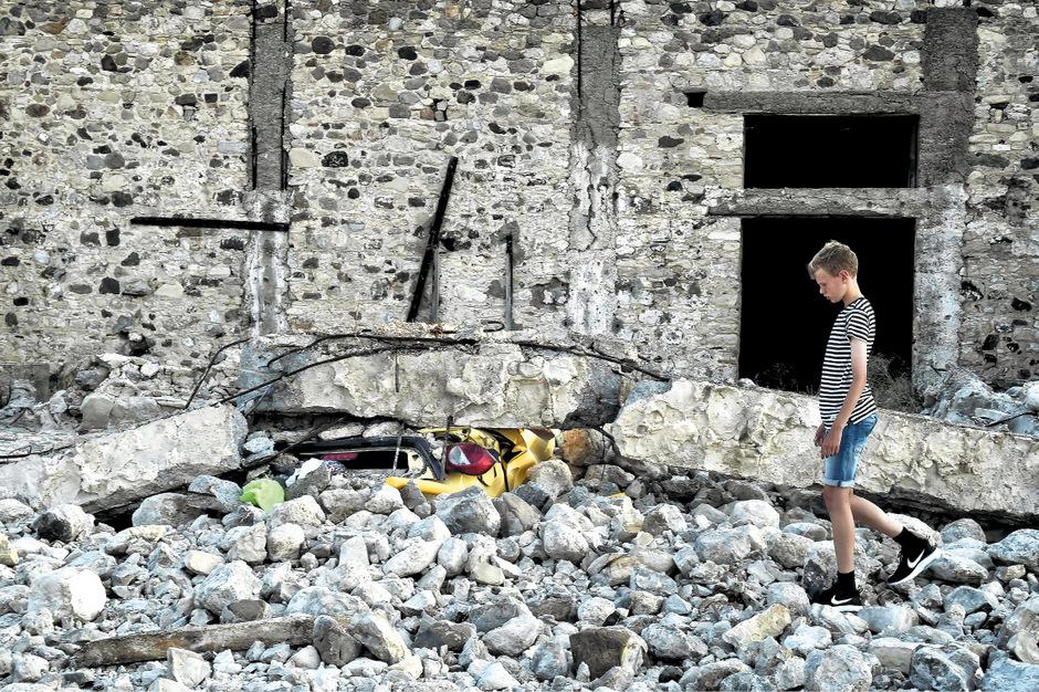 Erst vor ein paar Tagen hatte die Erde auf der Insel Zakynthos gebebt.