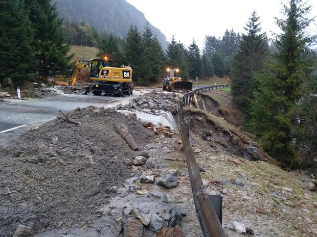 Das Unwetter richtete in Osttirol verheerende Schäden an.