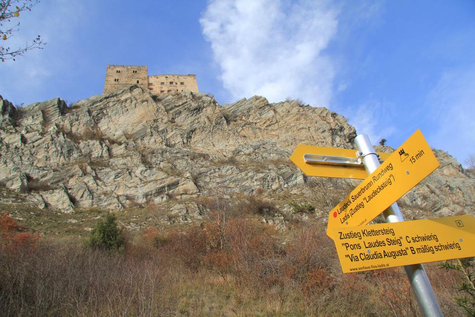 Klettersteig Burg : Lösung für drei lader klettersteige in sicht tiroler