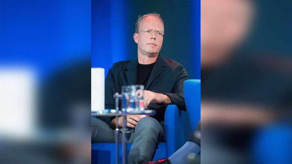 Der Kunstkritiker Hanno Rauterberg auf der Frankfurter Buchmesse 2018.