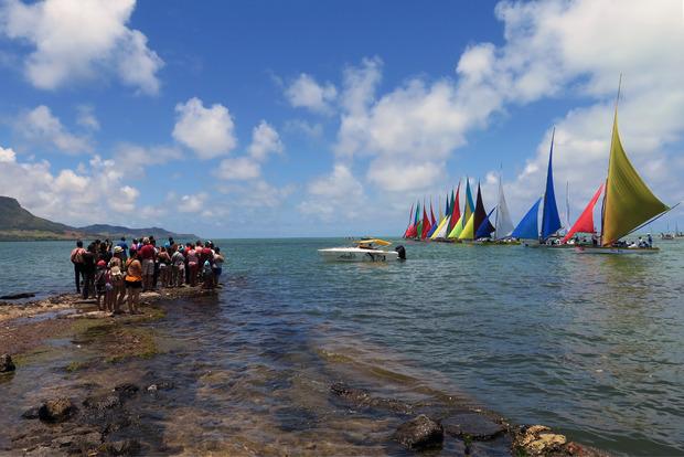 Segeln ist der Nationalsport auf der Insel.