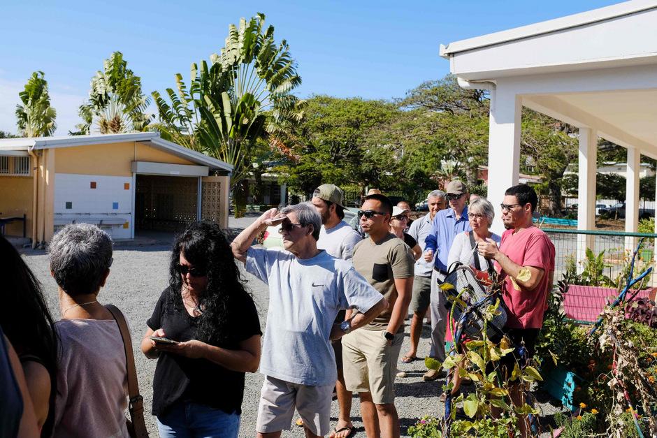 Die Inselbewohner strömten an die Wahlurnen.