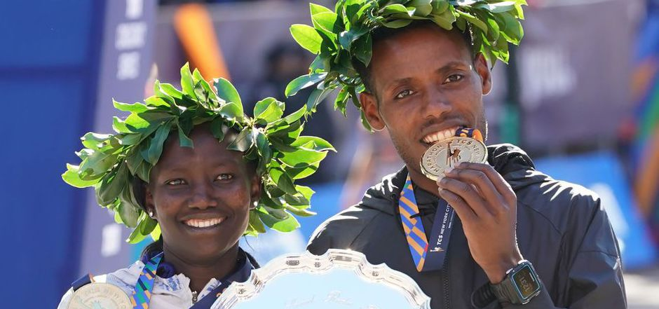 Der Äthiopier Desisa und die Kenianerin Keitany siegten beim NY-Marathon.