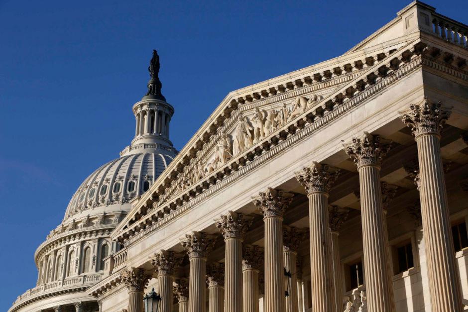 Das Kapitol in Washington, Sitz des US-Kongresses.