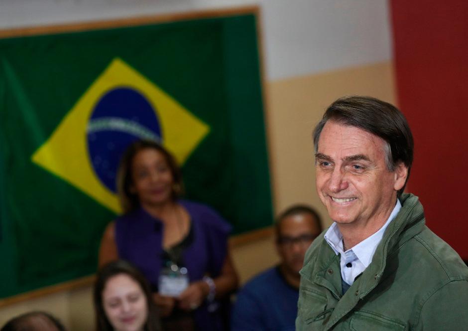 Jair Bolsonaro wurde zum neuen Präsidenten Brasiliens gewählt.