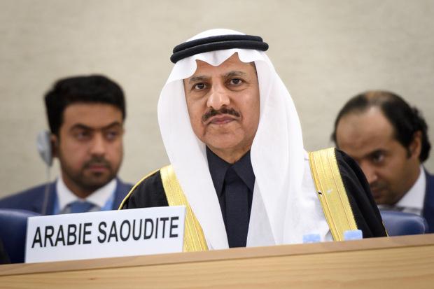 Bandar al-Aiban, der Vorsitzende der saudischen Menschenrechtskommission.