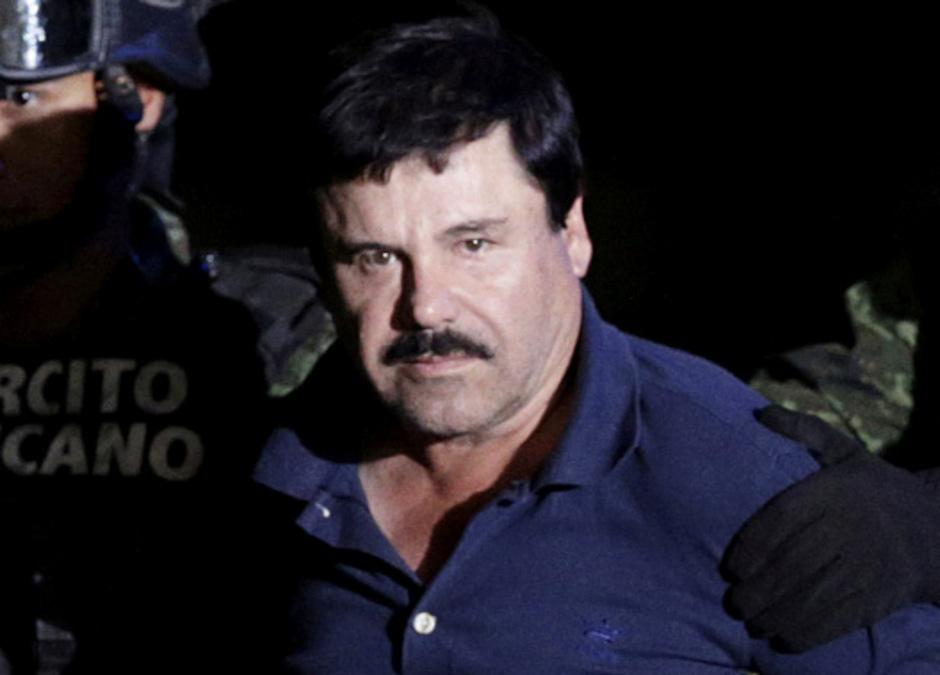 "Drogenboss Joaquin Guzman, besser bekannt als ""El Chapo""."