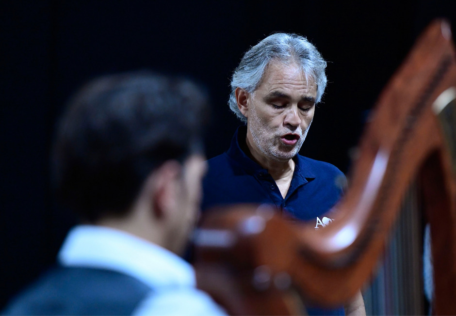 Startenor Andrea Bocelli.