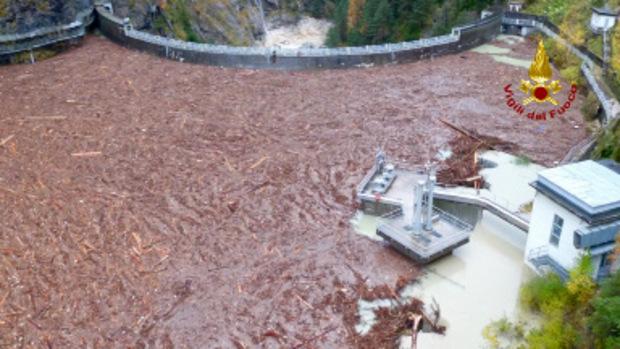 In der Dolomiten-Region Belluno ist die Lage besonders verheerend.