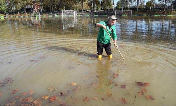 Übeschwemmungen gab es in vielen Teilen Italiens.