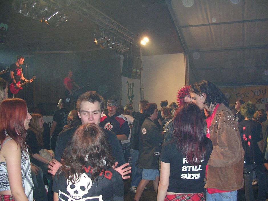 Viele Rockkonzerte gingen auf das Konto des rührigen Vereins.