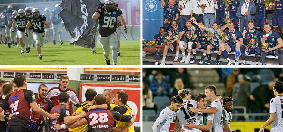 FC Wacker Innsbruck, die Schwazer Handballer, Hypo Tirol Alpenvolleys, Swarco Raiders – der Weg zur Professionalisierung schreitet bei Tirols Spitzenklubs parallel zur finanziellen Situation voran.