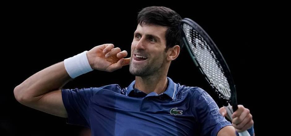 Sein Höhenflug wurde erst im Finale von Paris gestoppt: Novak Djokovic.