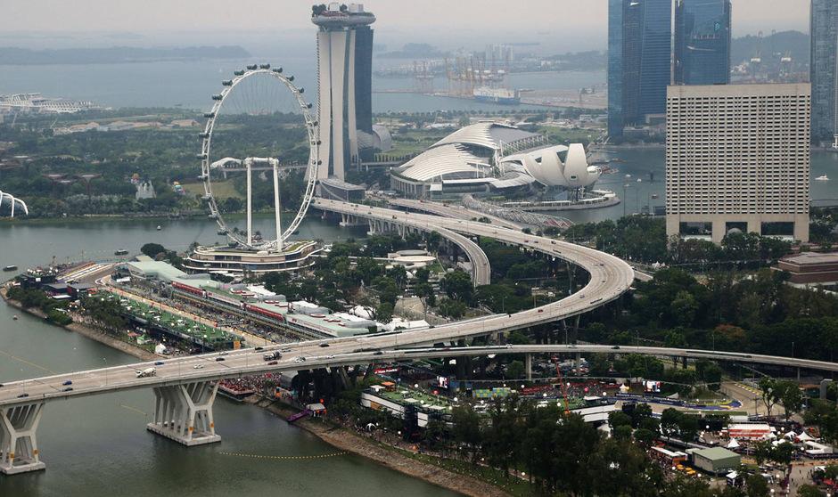 Nach Singapur (im Bild) und Malaysia macht die Formel 1 wohl bald auch in Vietnam Station.