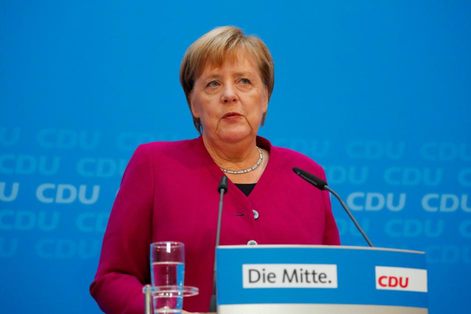 Die deutsche Kanzlerin und scheidende CDU-Parteivorsitzende Angela Merkel.