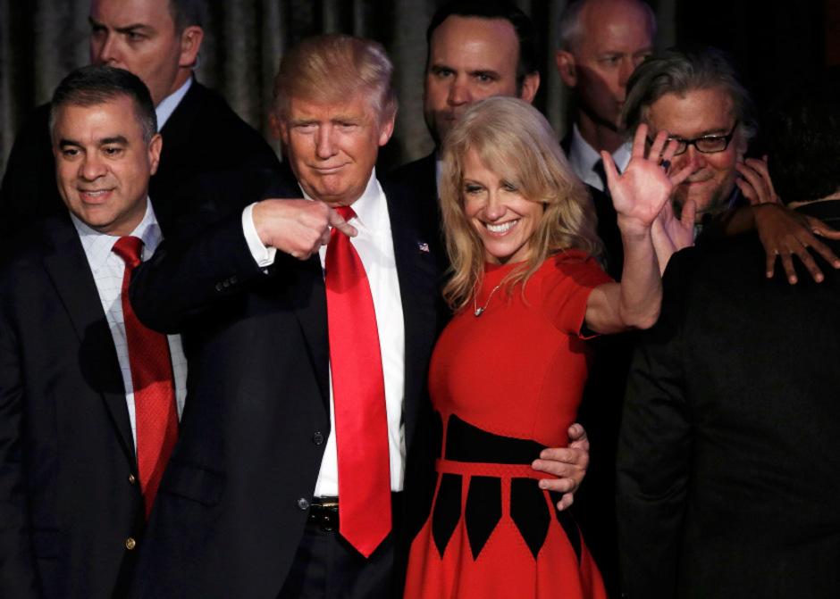 Führte Trump zum Erfolg: Kellyanne Conway.