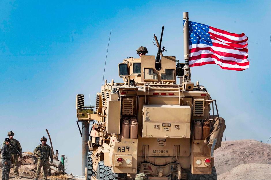 Etwa 1000 US-Soldaten verlassen Syrien - nur 150 bleiben im Süden stationiert.