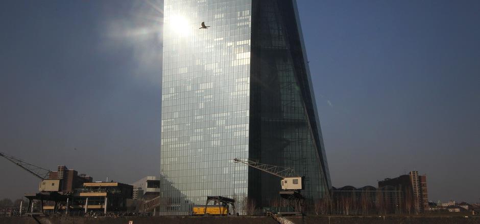 Die Europäische Zentralbank in Frankfurt.