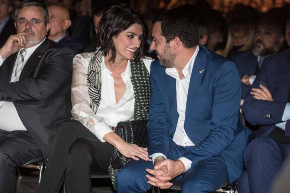 Elisa Isoardi trennte sich von  Matteo Salvini.