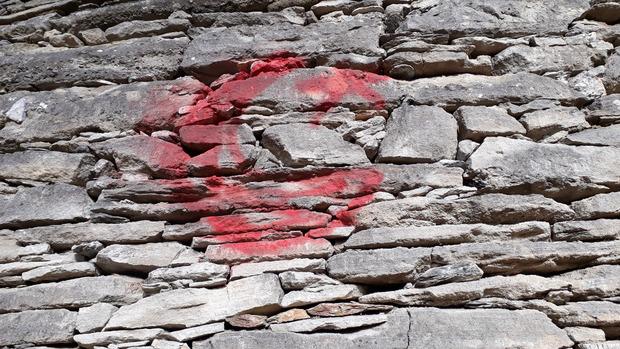 Die Trockensteinmauern sind im Frühjahr saniert worden.