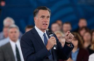 Der frühere republikanische Präsidentschaftskandidat Mitt Romney.