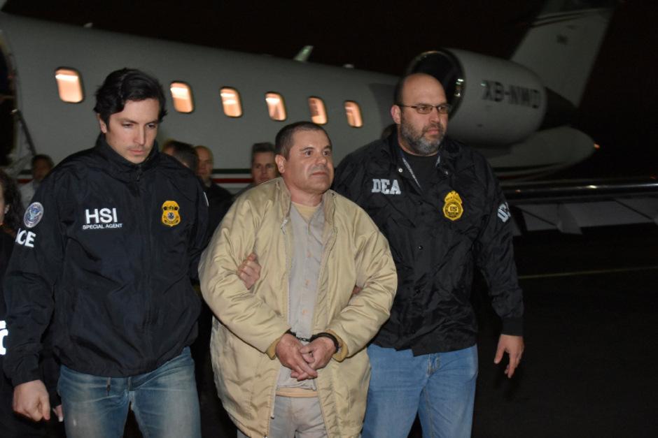 "Drogenboss Joaquin ""El Chapo"" Guzman im Jahr 2017."