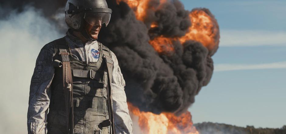 Übungen für den Ernstfall: Ryan Gosling als Neil Armstrong, der ständig auf dem schmalen Grat zwischen Leben und Tod balancierte.