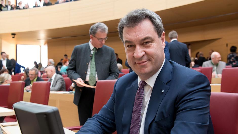 Markus Söder (CSU) ist neuer alter Ministerpräsident von Bayern.