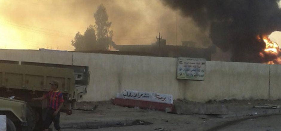 Die Gewalt im Irak hinterließ 2014 ein Bild der Verwüstung.