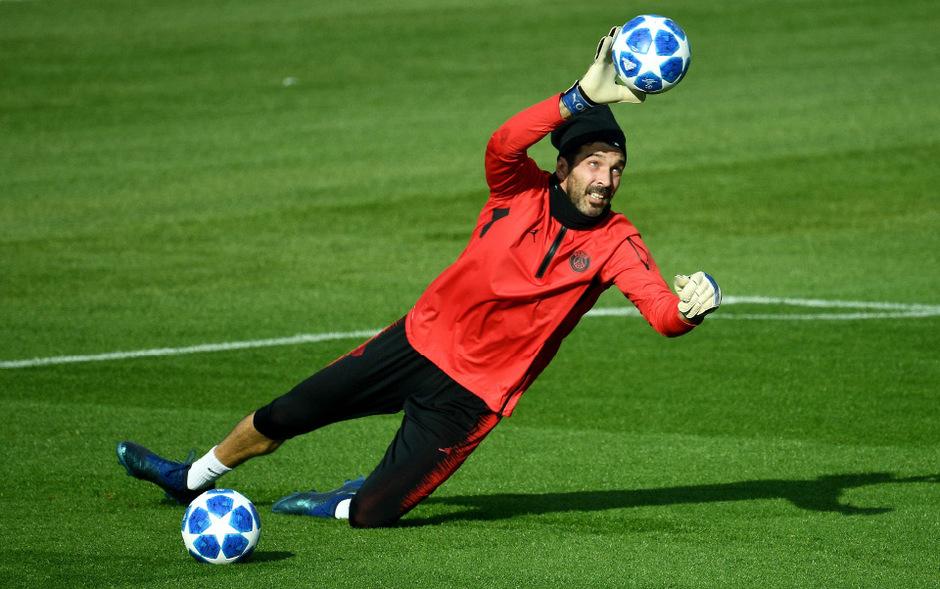 Steht heute im Tor von PSG: Gianluigi Buffon.