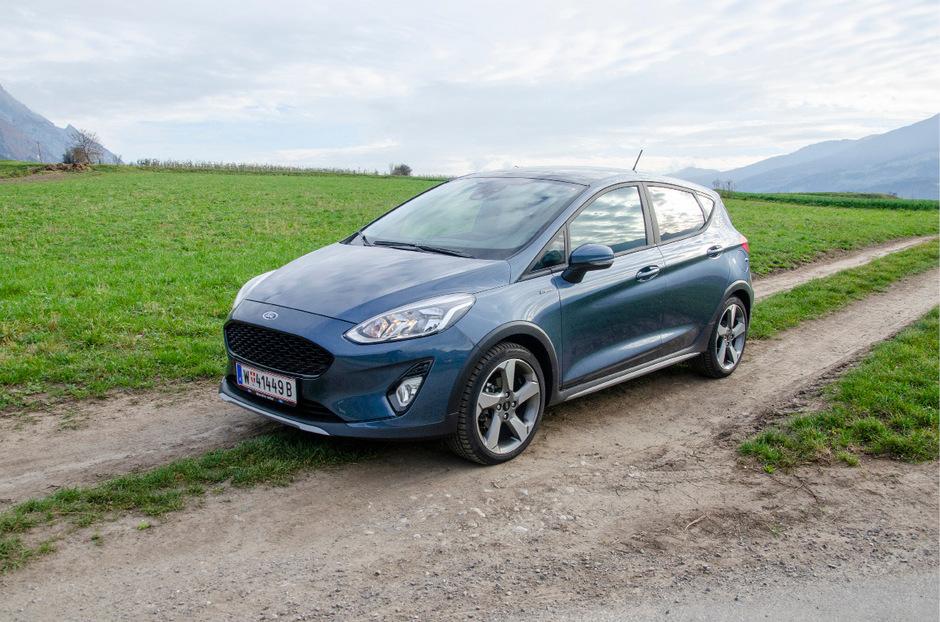 Der Crossover-Bodykit prägt Form und Funktion des neuen Ford Fiesta Active – denn dieser will auch abseits des Asphalts zu Hause sein.