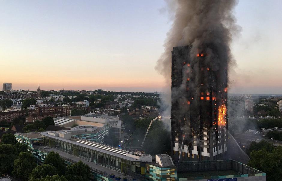 72 Menschen kamen beim Brand am 14. Juni 2017 im Londoner Grenfell Tower ums Leben.