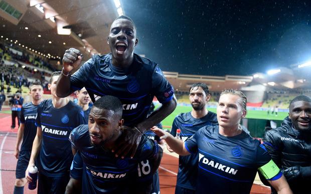Im Nachzügler-Duell der Gruppe A feierte Brügge einen klaren 4:0-(3:0)-Erfolg bei Monaco (12).