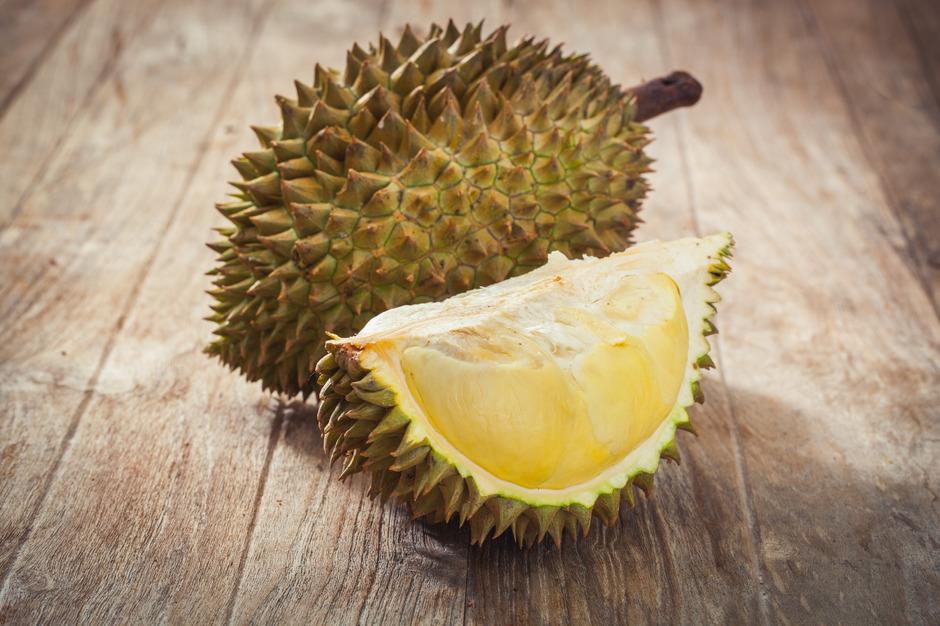 Die einen hassen, die anderen lieben die Frucht Durian.