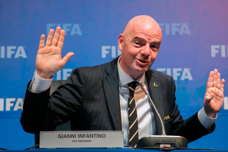 FIFA-Boss Gianni Infantino.