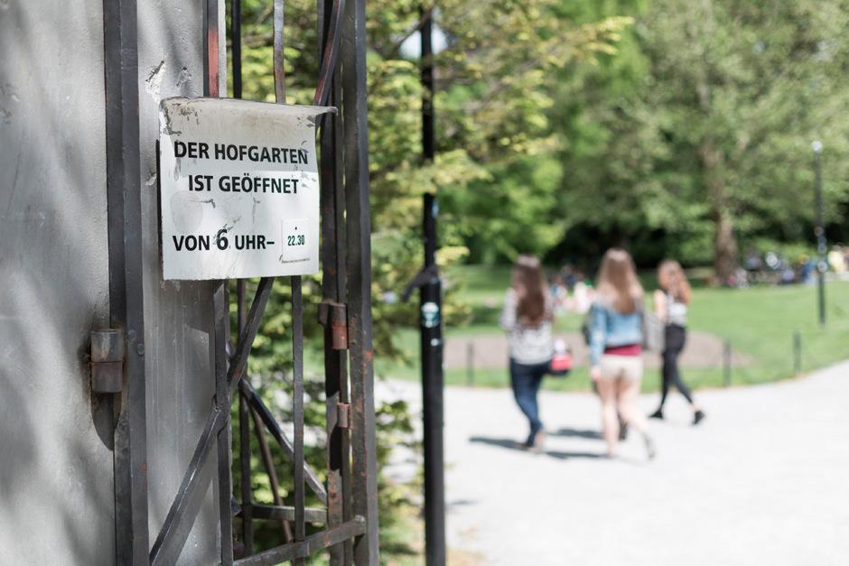 Innsbrucker Hofgarten. (Symbolfoto)