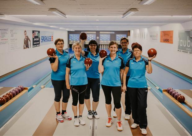 Das Damen-Team des KC Rofan Jenbach: Maria Spitzer, Fini Steinlechner, Petra Hechenblaickner, Beate Werth, Silvia Paulitsch und Christl Marterer (v.l.n.r.).