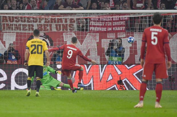 Robert Lewandowski will noch viele Tore für den FC Bayern schießen.