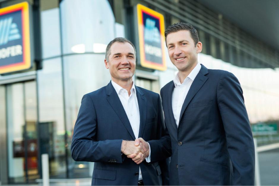Horst Leitner (l.) übernimmt ab 1. Dezember 2018 als neuer CEO die Position von Günther Helm.