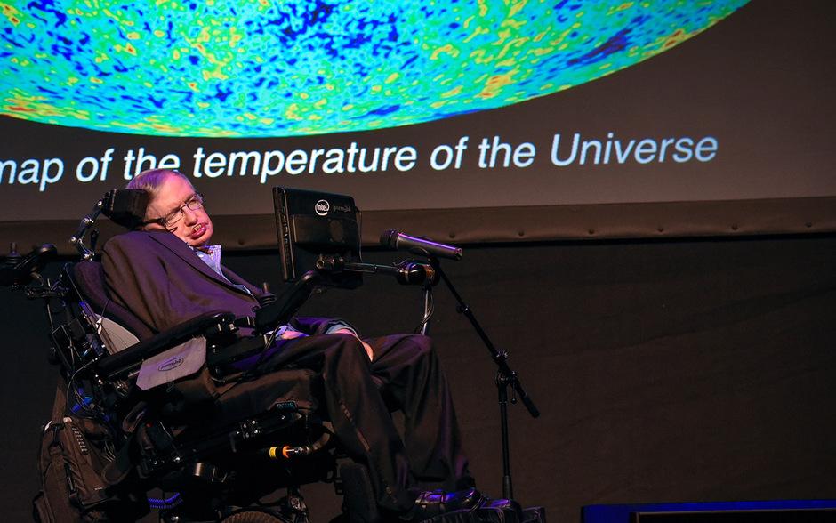 Stephen Hawking wurde 76 Jahre alt.