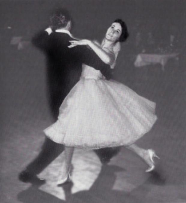 Ein Bild aus vergangenen Tagen: Vereinsgründer Hans Schücker mit seiner späteren Frau Helga.