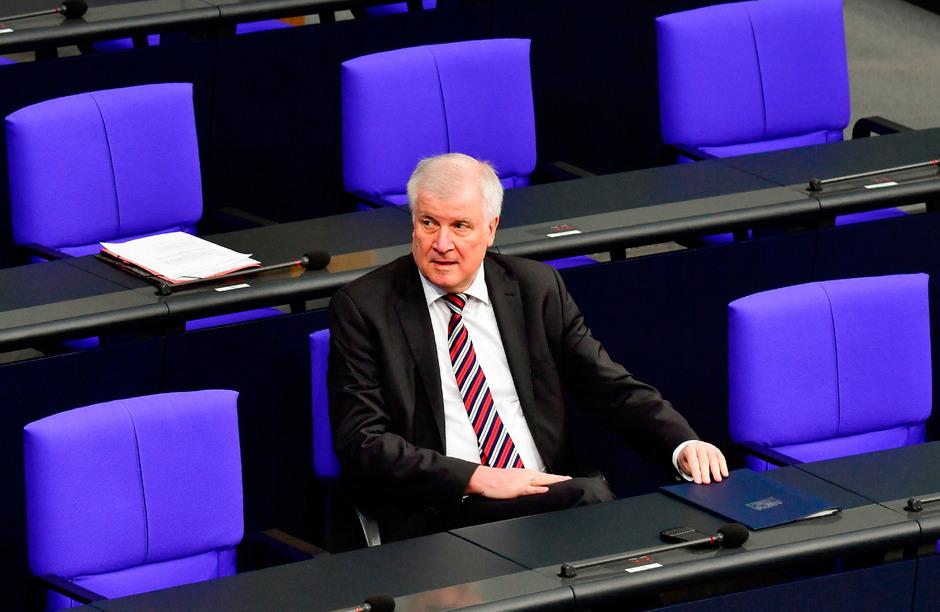 Der deutsche Innenminister Horst Seehofer (CSU).