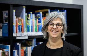 Leiterin der Stadtbibliothek, Christina Krenmayr.