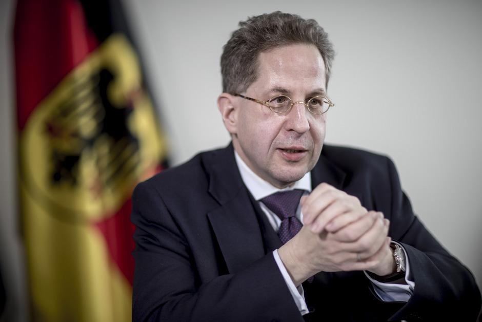 Der ehemalige deutsche Verfassungsschutzchef Hans-Georg Maaßen.