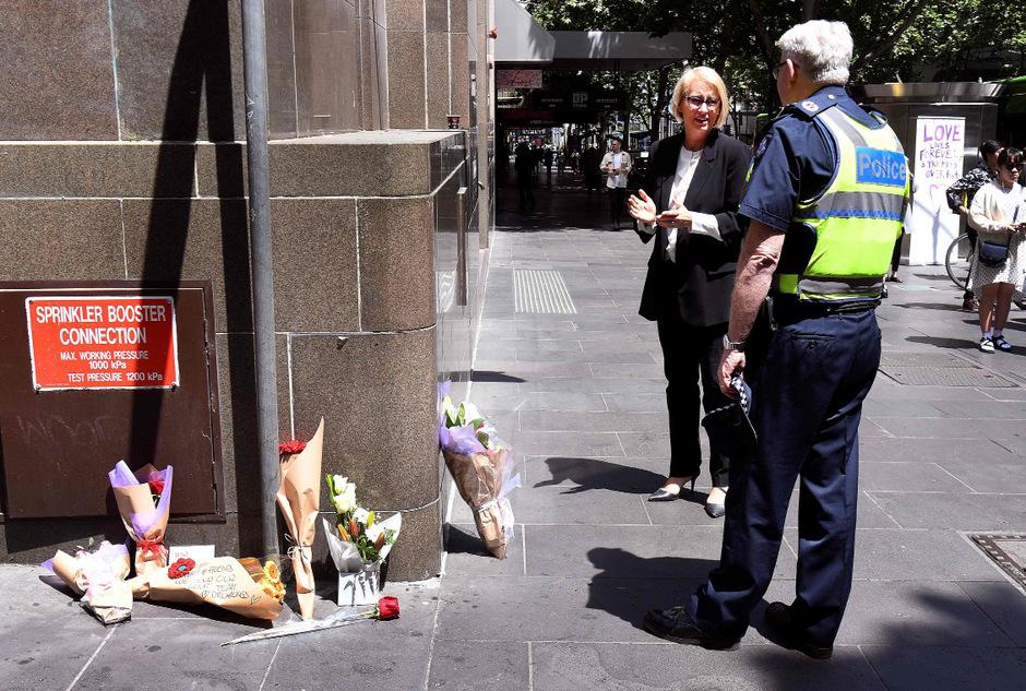 An dieser Straßenecke in Melbourne war der Somalier auf den Rentner mit einem Messer losgegangen.
