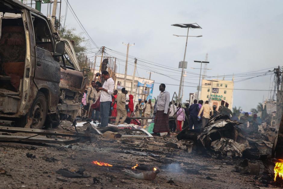 Dutzende Menschen starben bei dem Attentat.