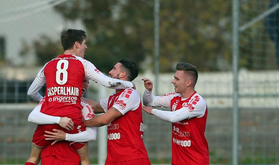 Vorwärts Steyr scheint endgültig in der 2. Liga angekommen zu sein.