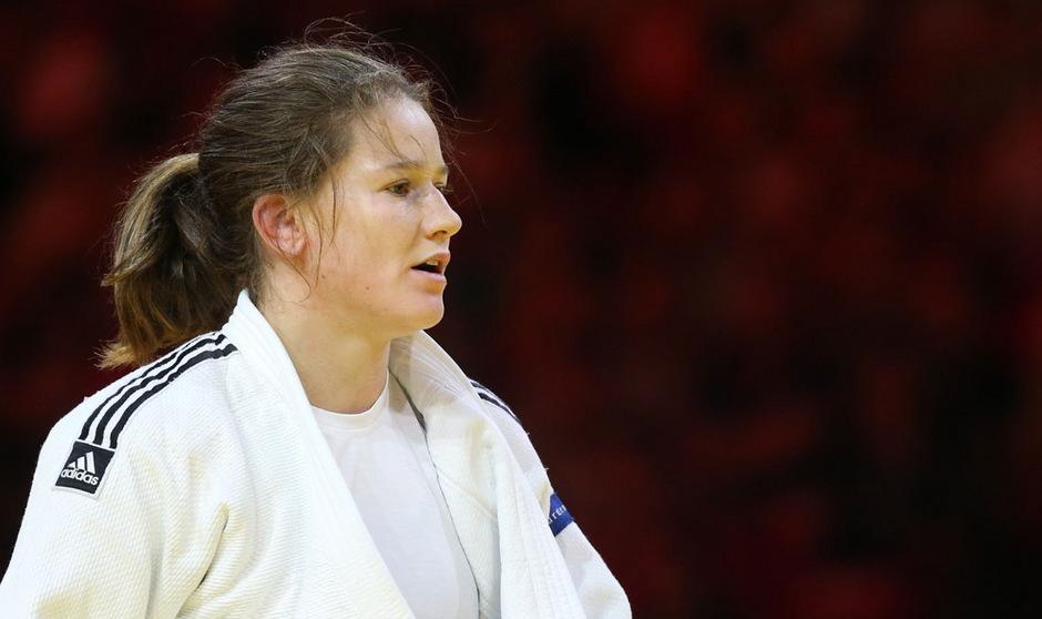 Erstmals nach ihrer langen Verletzungspause stand Kathrin Unterwurzacher in Taschkent wieder auf dem Stockerl.