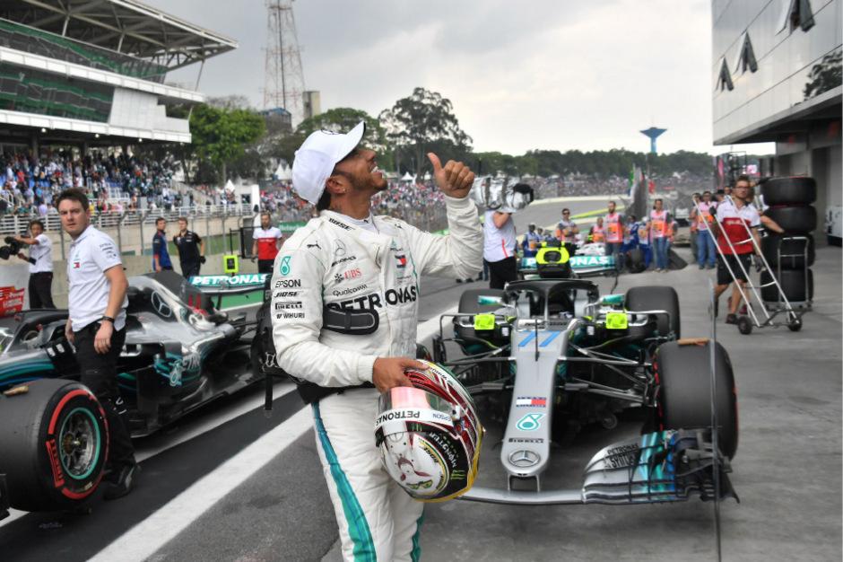 Mercedes-Pilot Lewis Hamilton war einmal mehr die Nummer eins im Qualifying.